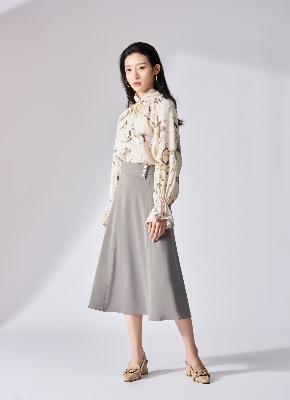丝绒鱼尾裙